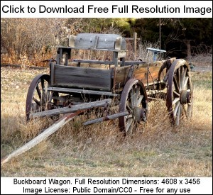 Buckboard Wagon - Free Photograph