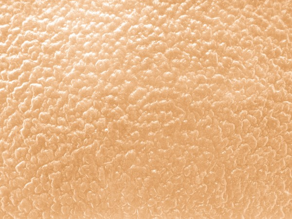 Peach Colored Textured Glass with Bumpy Surface - Free High Resolution Photo