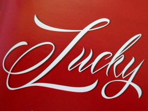Lucky - Free High Resolution Photo of the word Lucky
