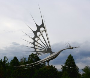 Metal Bird Sculpture - Free High Resolution Photo