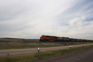 Train Hauling Coal Cross Country - Free High Resolution Photo