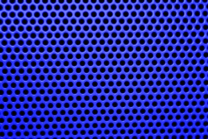Blue Mesh with Round Holes Texture - Free High Resolution Photo