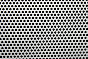 White Mesh with Round Holes Texture - Free High Resolution Photo