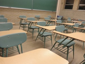 Student Desks in Classroom - Free High Resolution Photo
