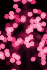 Pink Christmas Lights - Free High Resolution Photo