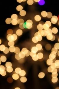 White Christmas Lights - Free High Resolution Photo