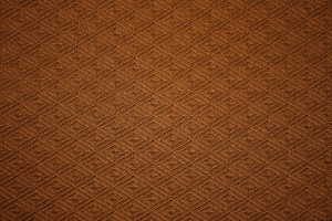 Chocolate Brown Knit Fabric with Diamond Pattern Texture - Free High Resolution Photo