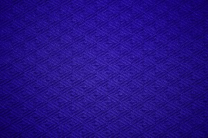 Cobalt Blue Knit Fabric with Diamond Pattern Texture - Free High Resolution Photo