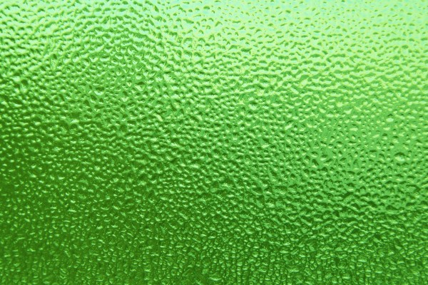 Dimpled Ice on Glass Texture Colorized Lime Green - Free High Resolution Photo