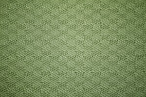 Olive Green Knit Fabric with Diamond Pattern Texture - Free High Resolution Photo