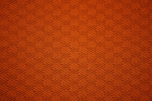 Orange Knit Fabric with Diamond Pattern Texture - Free High Resolution Photo