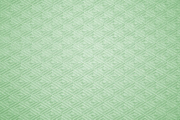 Pistachio Green Knit Fabric with Diamond Pattern Texture - Free High Resolution Photo