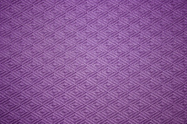 Purple Knit Fabric with Diamond Pattern Texture - Free High Resolution Photo
