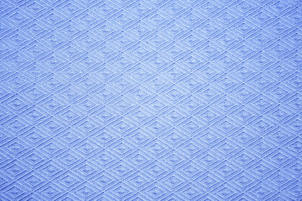 Sky Blue Knit Fabric with Diamond Pattern Texture - Free High Resolution Photo