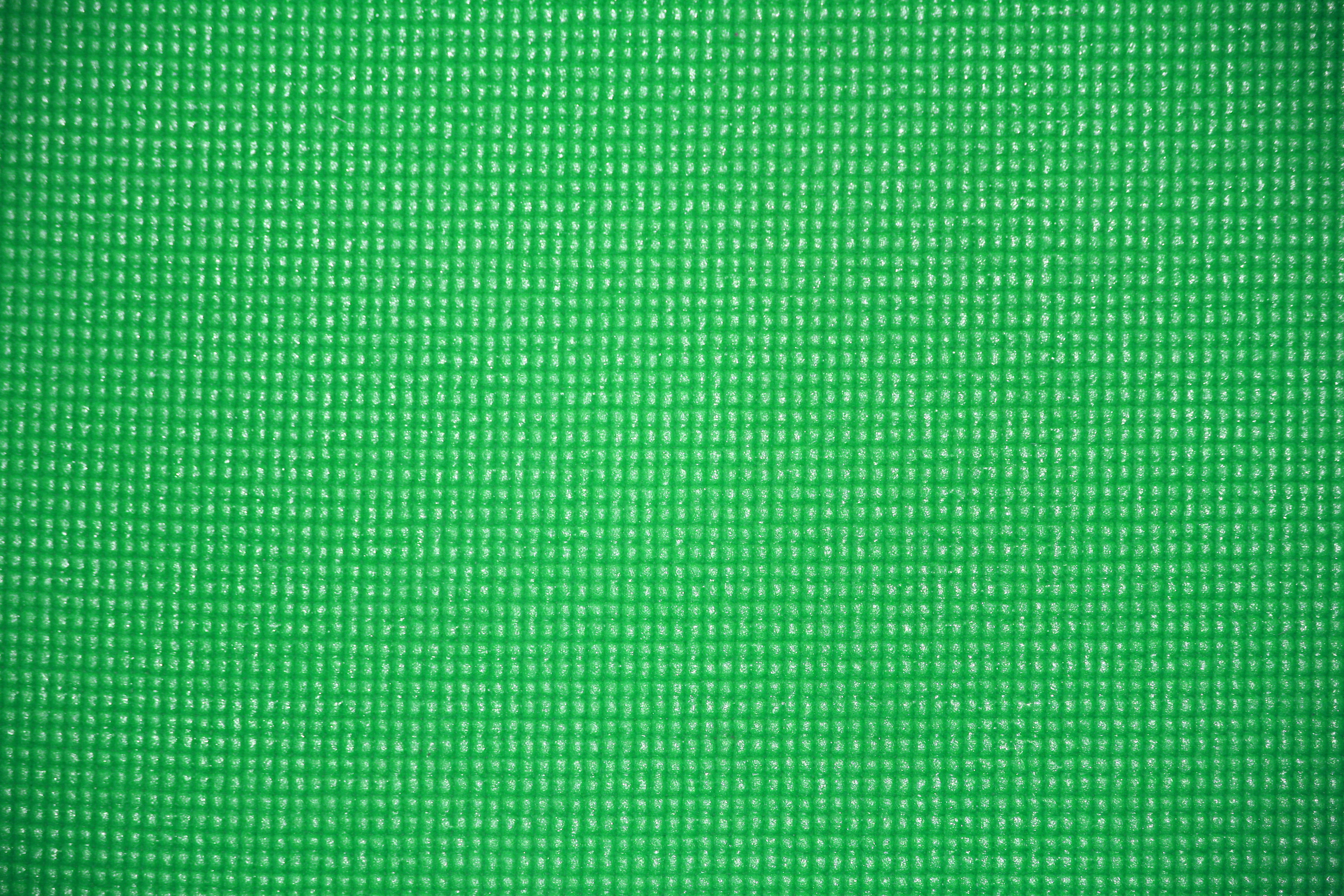 Green Yoga Exercise Mat Texture Picture Free Photograph