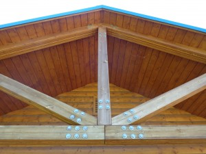 Wooden Roof Support Beams - Free High Resolution Photo
