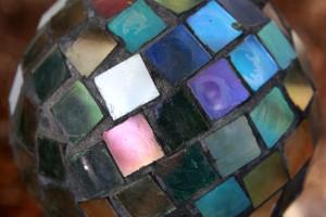 Colorful Glass Mosaic Ball - Free High Resolution Photo