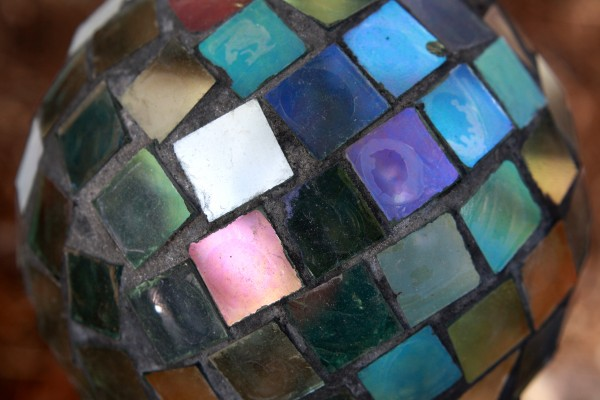 Colorful Glass Mosaic Ball - Free High Resolution Photo