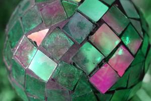Green Glass Mosaic Ball - Free High Resolution Photo