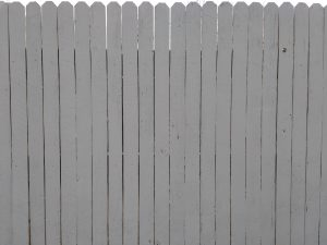 Painted Cedar Privacy Fence Texture - Free High Resolution Photo
