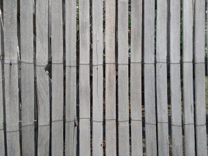 Weathered Rolled Wood Fencing Texture - Free High Resolution Photo