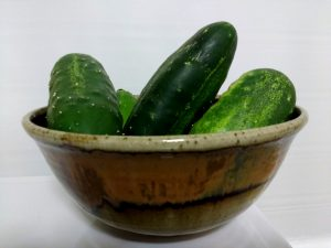 Bowl Full of Cucumbers - Free High Resolution Photo