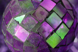 Purple Glass Mosaic Ball - Free High Resolution Photo