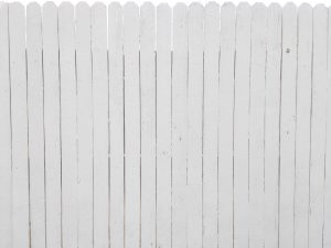 White Painted Fence Texture - Free High Resolution Photo