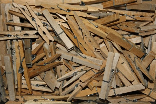 Wooden Clothespins - Free High Resolution Photo