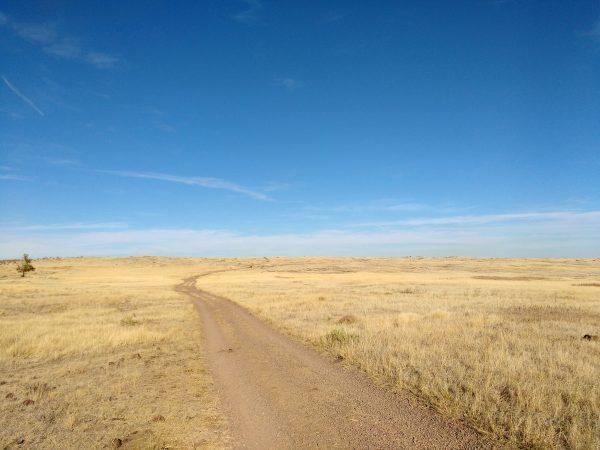 Dirt Road Across Open Prairie - Free High Resolution Photo