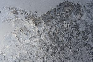 Frost Crystals on Glass Close Up - Free High Resolution Photo