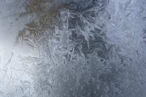 Ice Patterns on Frosty Glass - Free High Resolution Photo