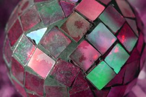 Red Glass Mosaic Ball - Free High Resolution Photo