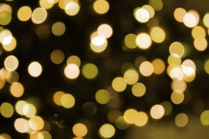 Soft Focus Gold Christmas Lights Texture - Free High Resolution Photo