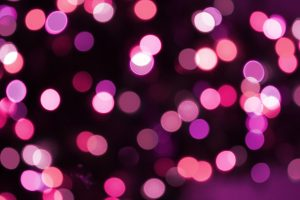 Soft Focus Pink Christmas Lights Texture - Free High Resolution Photo