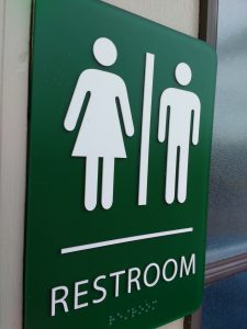 Unisex Restroom Sign - Free High Resolution Photo