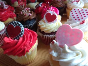 Valentine's Day Cupcakes - Free High Resolution Photo