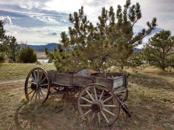 Old Covered Wagon - Free High Resolution Photo