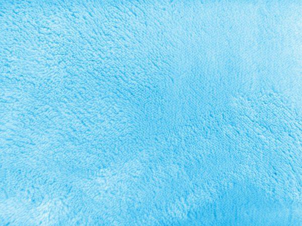 Plush Sky Blue Bathmat Texture - Free High Resolution Photo