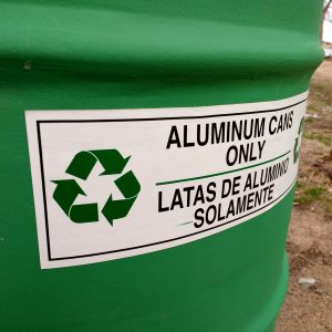 Aluminum Cans Recycling Sign - Free High Resolution Photo