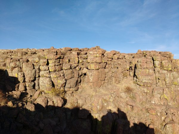Cliff Face with Broken Rocks - Free High Resolution Photo