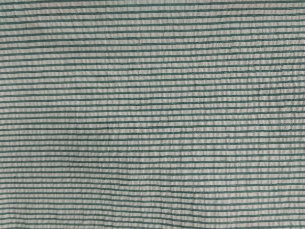 Green and White Striped Fabric Texture - Free High Resolution Photo