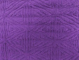 Purple Textured Throw Rug Close Up - Free High Resolution Photo