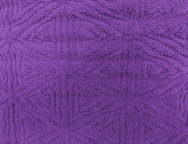 Purple Textured Throw Rug Close Up - Free High Resolution Photo