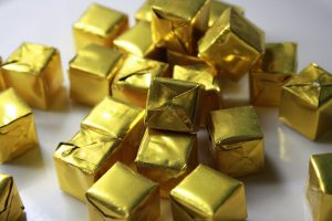 Foil Wrapped Chicken Bouillon Cubes - Free High Resolution Photo