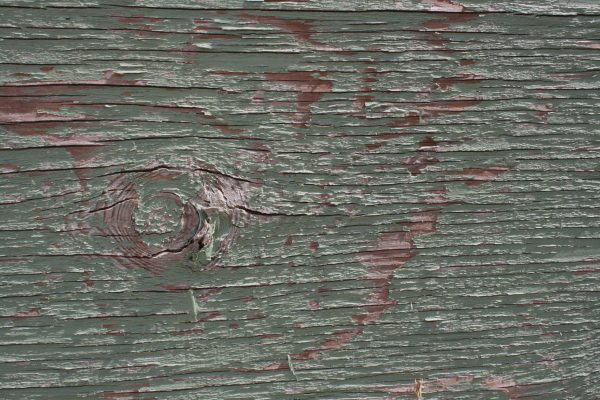 Peeling Green Paint on Old Plywood Texture - Free High Resolution Photo