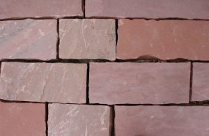 Red Flagstone Blocks Texture - Free High Resolution Photo