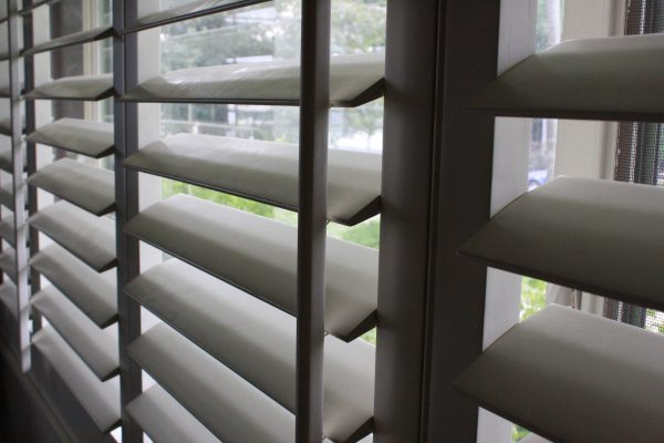 Louvered Window Blinds - Free High Resolution Photo