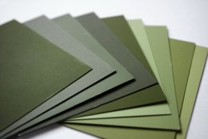 Color Samples - Olive Green - Free High Resolution Photo