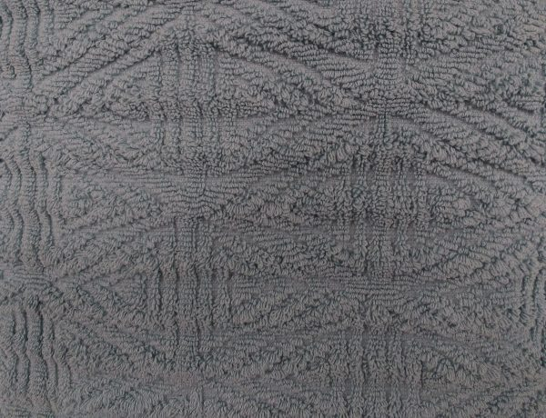 Gray Textured Throw Rug Close Up - Free High Resolution Photo